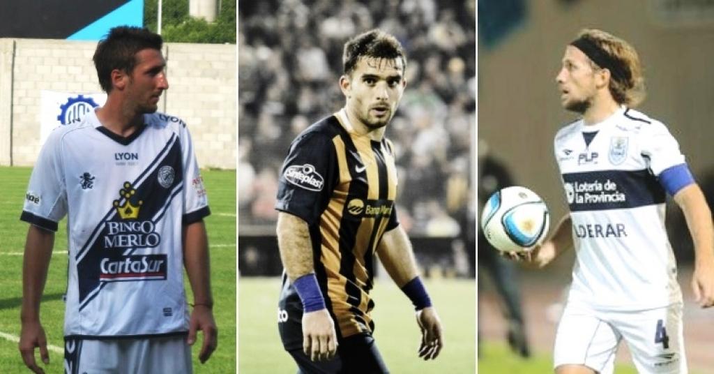 Ramiro López, Franco Niell y Facundo Oreja